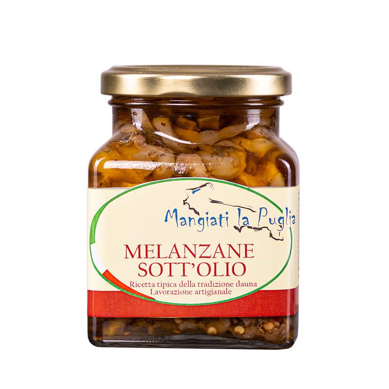 Bakłażany w oliwie z oliwek