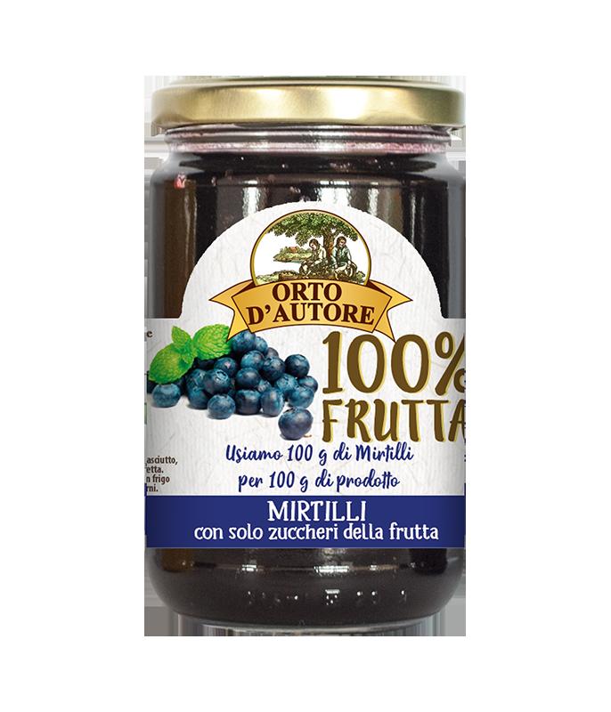 Dżem 100% owoców z jagód