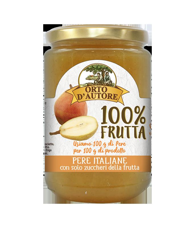 Dżem 100% owoców z gruszek włoskich